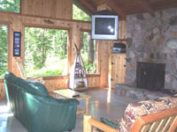 Northwoods mt st helens northwoods inns northwoods for Rental cabins near mt st helens