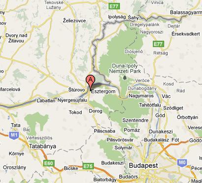 esztergom térkép Esztergom szállás, Esztergom szállások, apartman Esztergom esztergom térkép