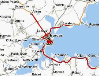 Hotels in Burgas Bulgaria and apartments in Burgas